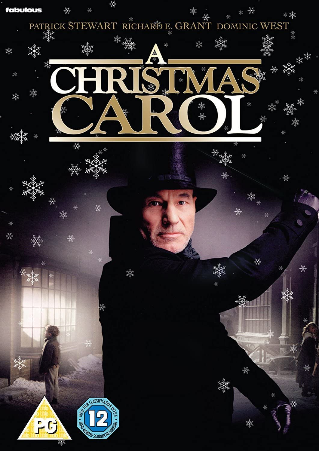 A Christmas Carol Patrick Stewart.A Christmas Carol Dvd Amazon Co Uk Patrick Stewart Richard E Grant Dominic West Liz Smith David Hugh Jones Patrick Stewart Richard E Grant Dvd Blu Ray