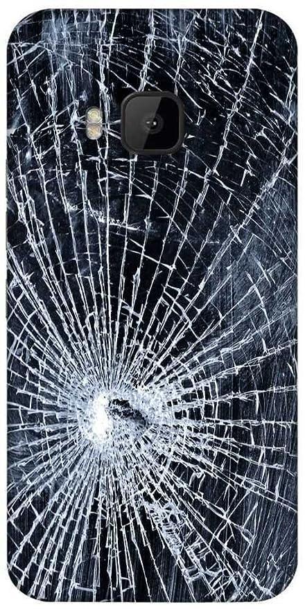 timeless design 06b70 e7505 Snoogg Broken Screen Designer Protective Back Case: Amazon.in ...