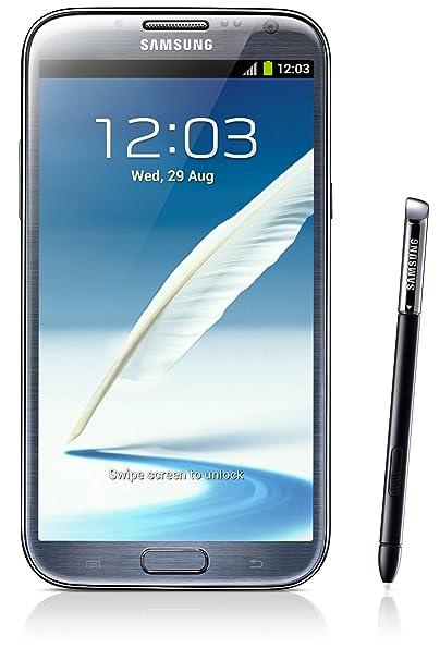 Samsung Galaxy Note 2 Gt N7100 Titanium Grey Amazon In Electronics