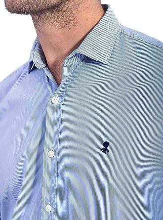 EL PULPO Camisa Mil Rayas Azul Hombre: Amazon.es: Ropa y ...