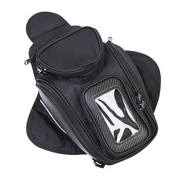 Bolsas para depósito, CONMING Motorcycle Magnético Aceite Bolsa de Combustible Knight Pack Paquete Impermeable Oxford tela GPS Travel Riding Bag Negro ...