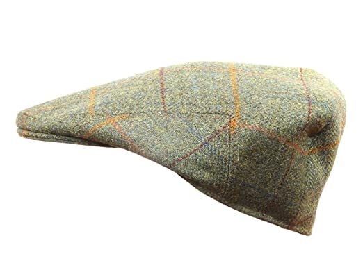 Yorkshire Hand Tailored Tweed Garforth Flat Cap Derwent Green Made in  Britain fc015a14411