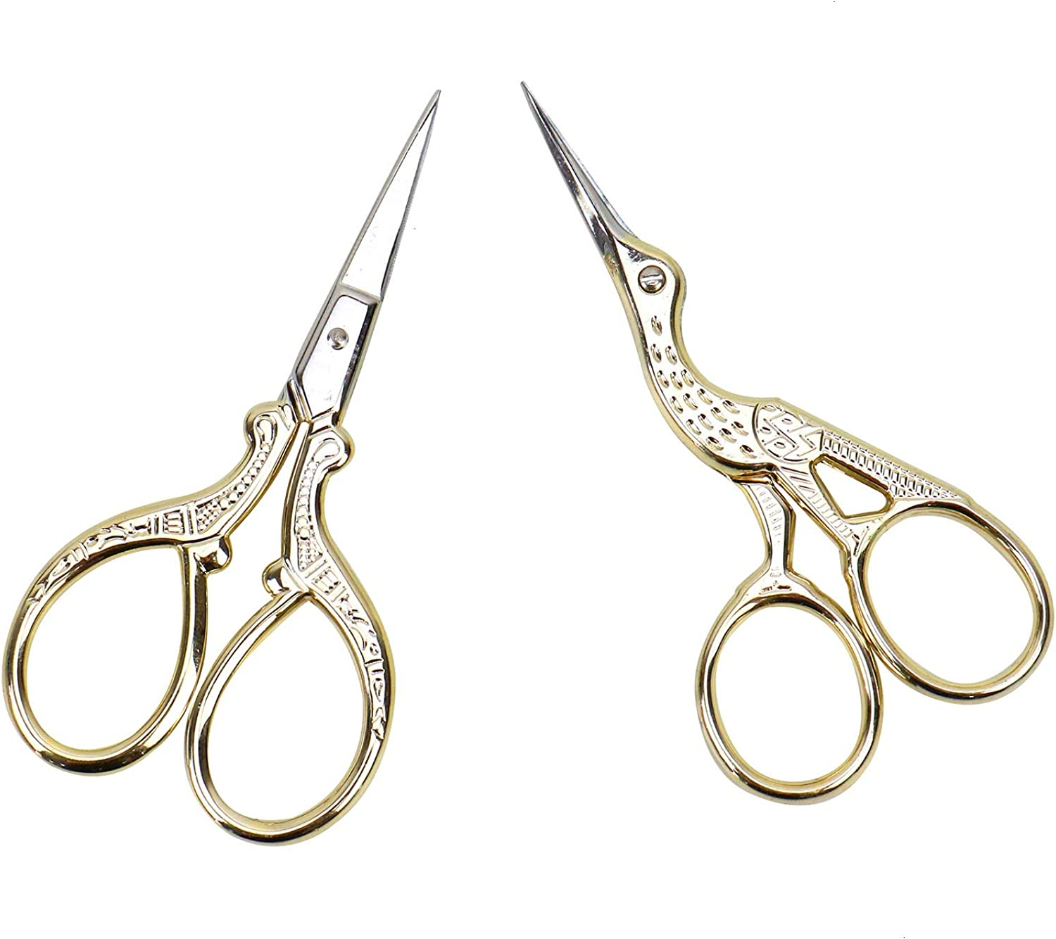 "3 1//2/""  Stork Embroidery Scissors 36 pcs free ship"