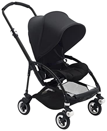 Bugaboo Bee5 Complete Stroller Black Black Compact Foldable Stroller For Travel And Urban Life