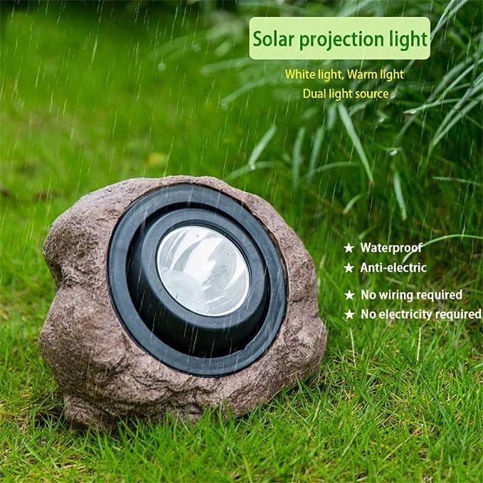 3* Romantisch LED Gartenlicht Rasen Licht Solarleuchte Gartenlampe Garte GGI