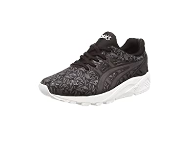 ASICS Gel-kayano Trainer Evo, Unisex-Erwachsene Sneakers, Schwarz (black/dark Grey 9016), 43.5 EU