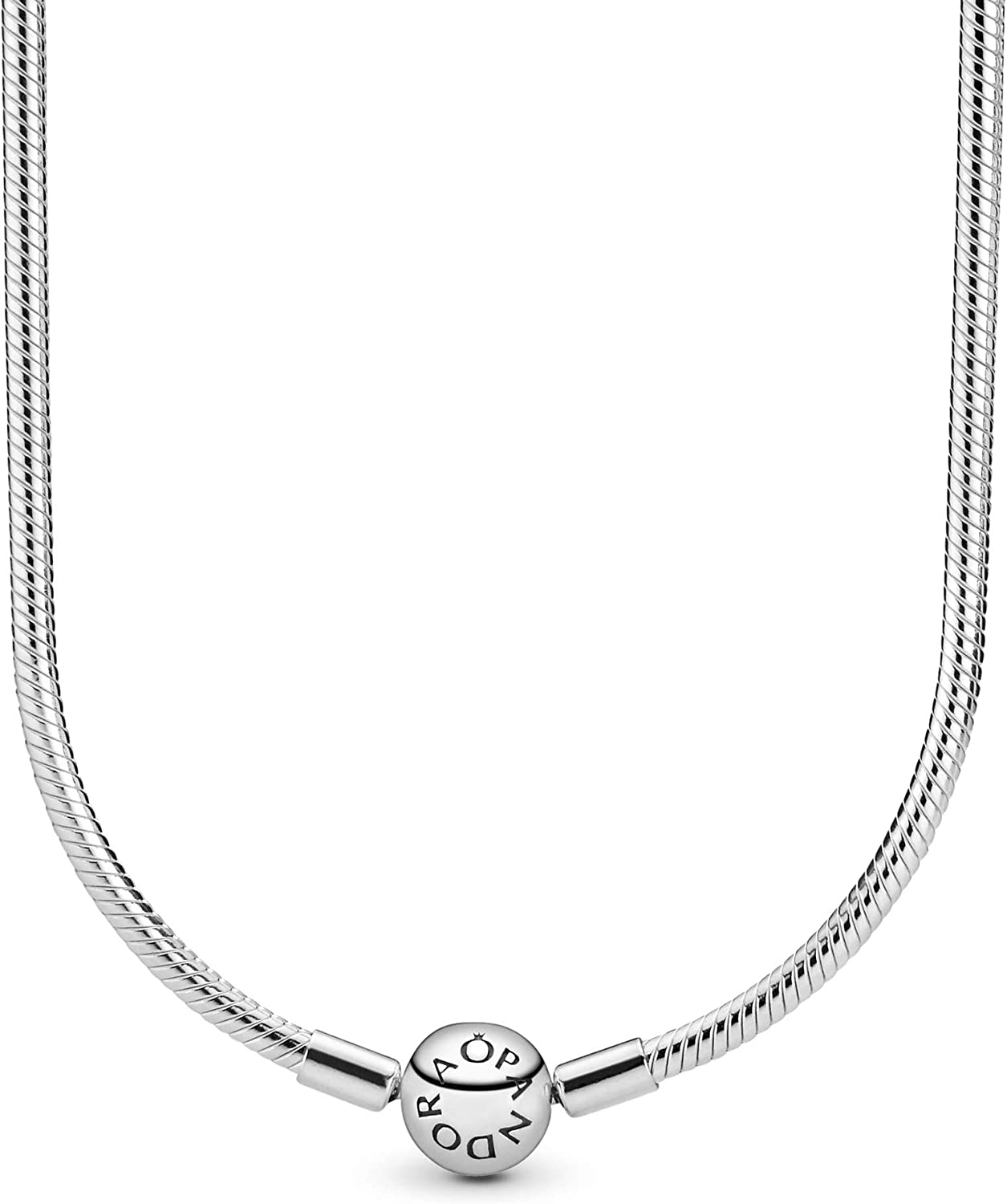 Pandora Jewelry - Moments Snake Chain Charm Necklace for Women...