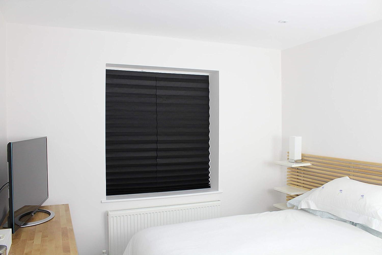 6 persianas de fijación rápida temporales opacas, perfectas para el dormitorio: Amazon.es: Hogar