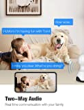 Pet Camera, Conico 1080P HD Wireless IP Camera with Sound and Motion Detection Two-Way Audio, Pan/Tilt/Zoom WiFi Dome Camera, Home Security Baby Monitor with Night Vision