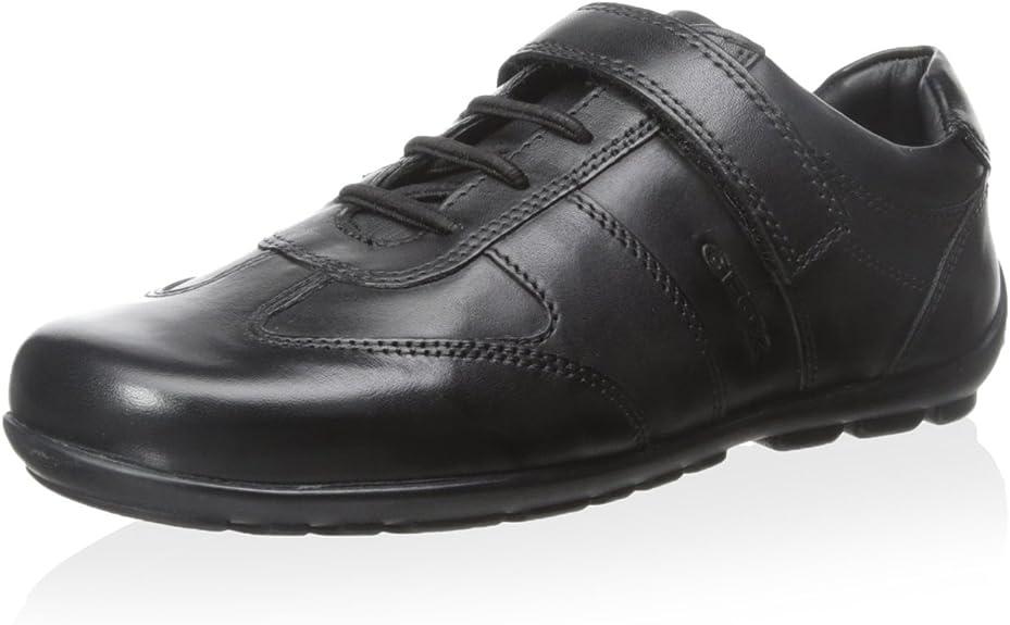 Asser Sombra chocar  Geox - Plano Unisex Niños, Negro (Negro), 30: Amazon.es: Zapatos y  complementos