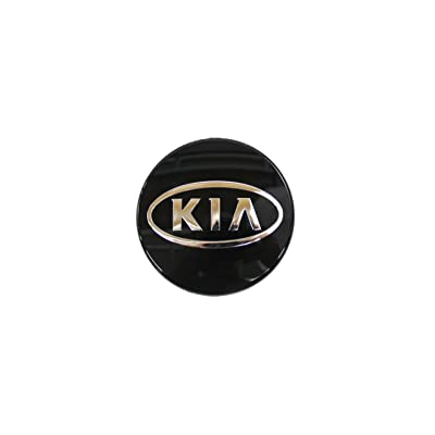 Genuine Kia 0K2NA-37192 Tire Center Cap with Emblem: Automotive