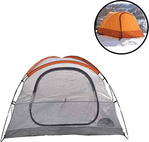 AceCamp Horizon 3-Person Tent, Portable Waterproof Camping Tent for Three People, Outdoor Easy Setup Tent, Giant Vestibules, Gear Loft Storage Pockets, 3 Man Tent
