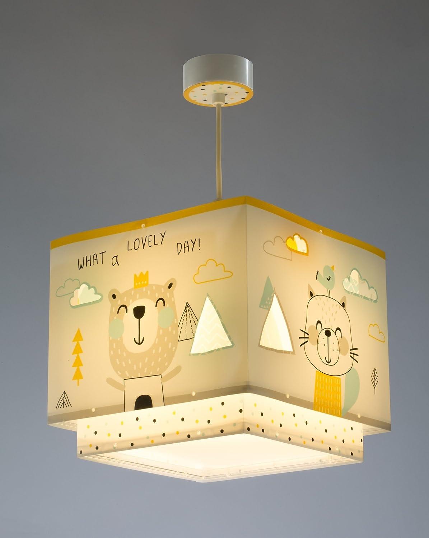 Dalber Hello Little Lampe Enfant Suspension Multicolore 73242