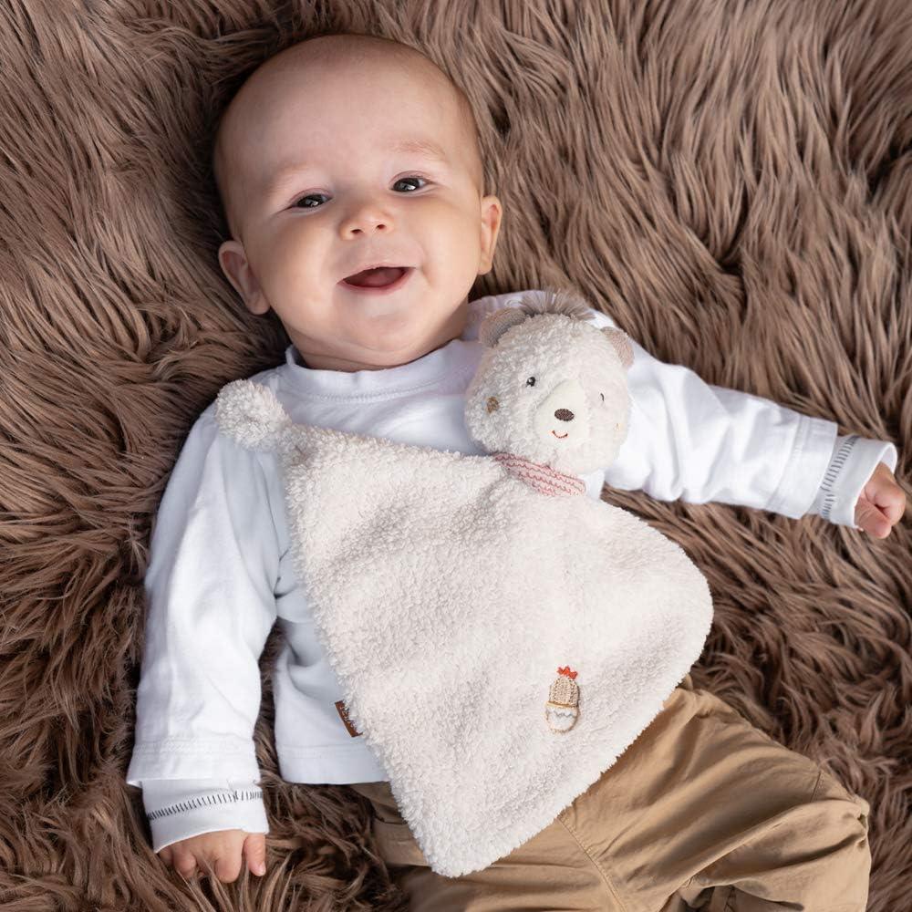 Baby /& Kleinkinder Spielkamerad /& Einschlafhilfe Kuscheltuch Geschenkidee M/ädchen Schmusetuch Stofftier-Schnuffeltuch personalisiert LALALO FEHN B/är Schmusetuch mit Namen Bestickt