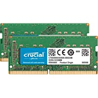 Crucial 64GB Kit (32GB x 2) DDR4 2666 MT/s (PC4-21300) SODIMM Memory for Mac - CT2K32G4S266M