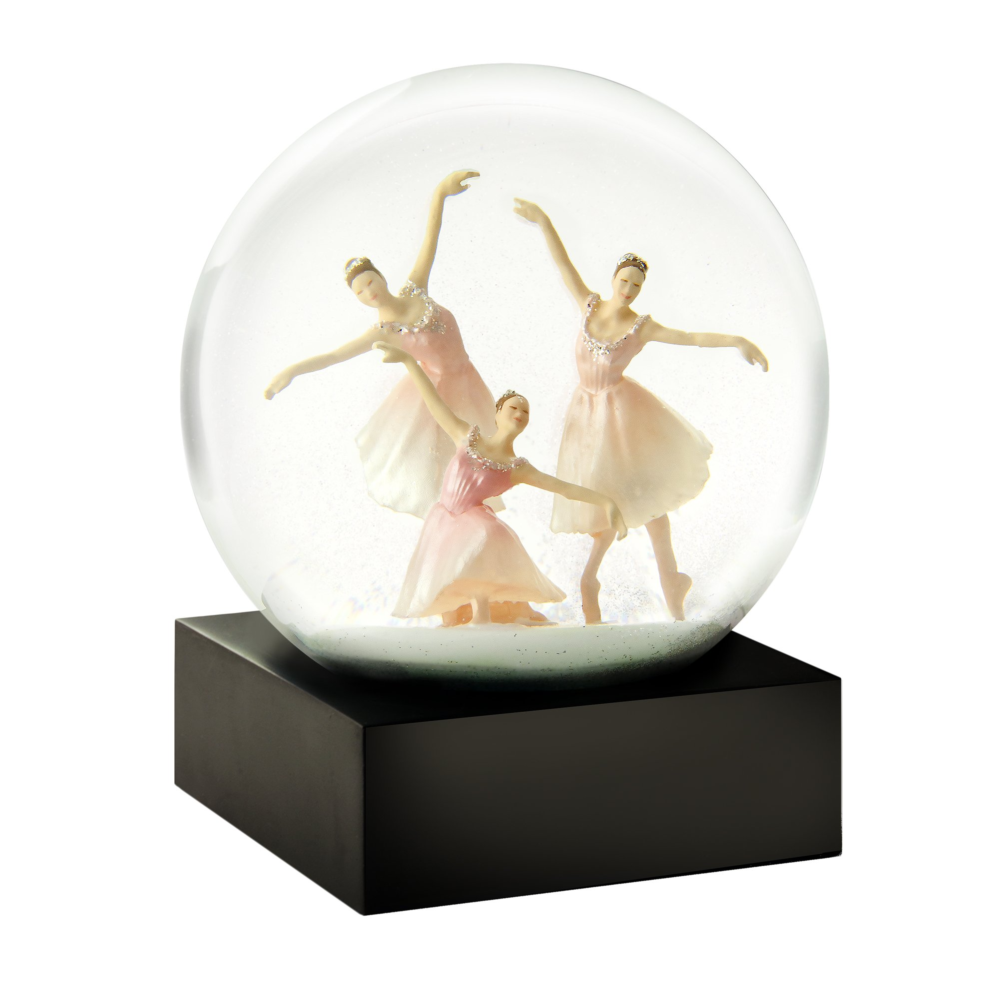 CoolSnowGlobes Trio Ballerina Cool Snow Globe