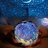 Star Night Light Projector Kids Lamp, Arfbear Romantic Starry Night Universe Light Projector Lamp for Home Party Birthday Decorations Lights Children Kids Gift Toys Bedroom Living Room