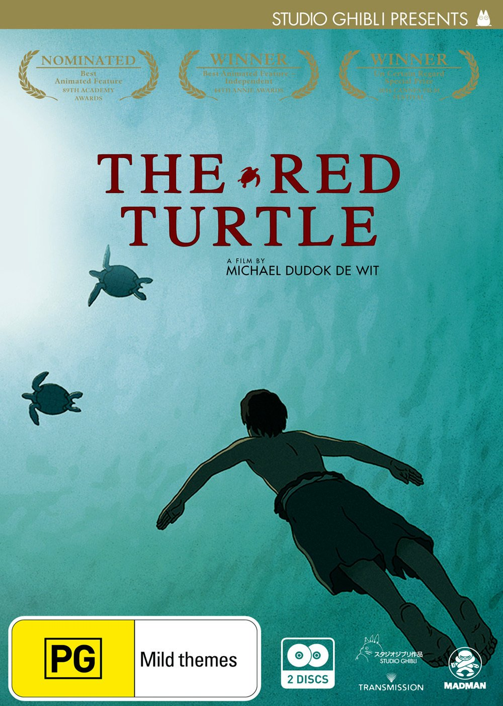 Amazon Com The Red Turtle Anime Manga Non Usa Format Pal Region 4 Import Australia Michael Dudok De Wit Movies Tv