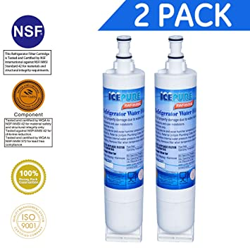 IcePure Premium Refrigerator Replacement Water Filter, Compatible With  Whirlpool PUR 4396508, 4396510 For Kitchenaid
