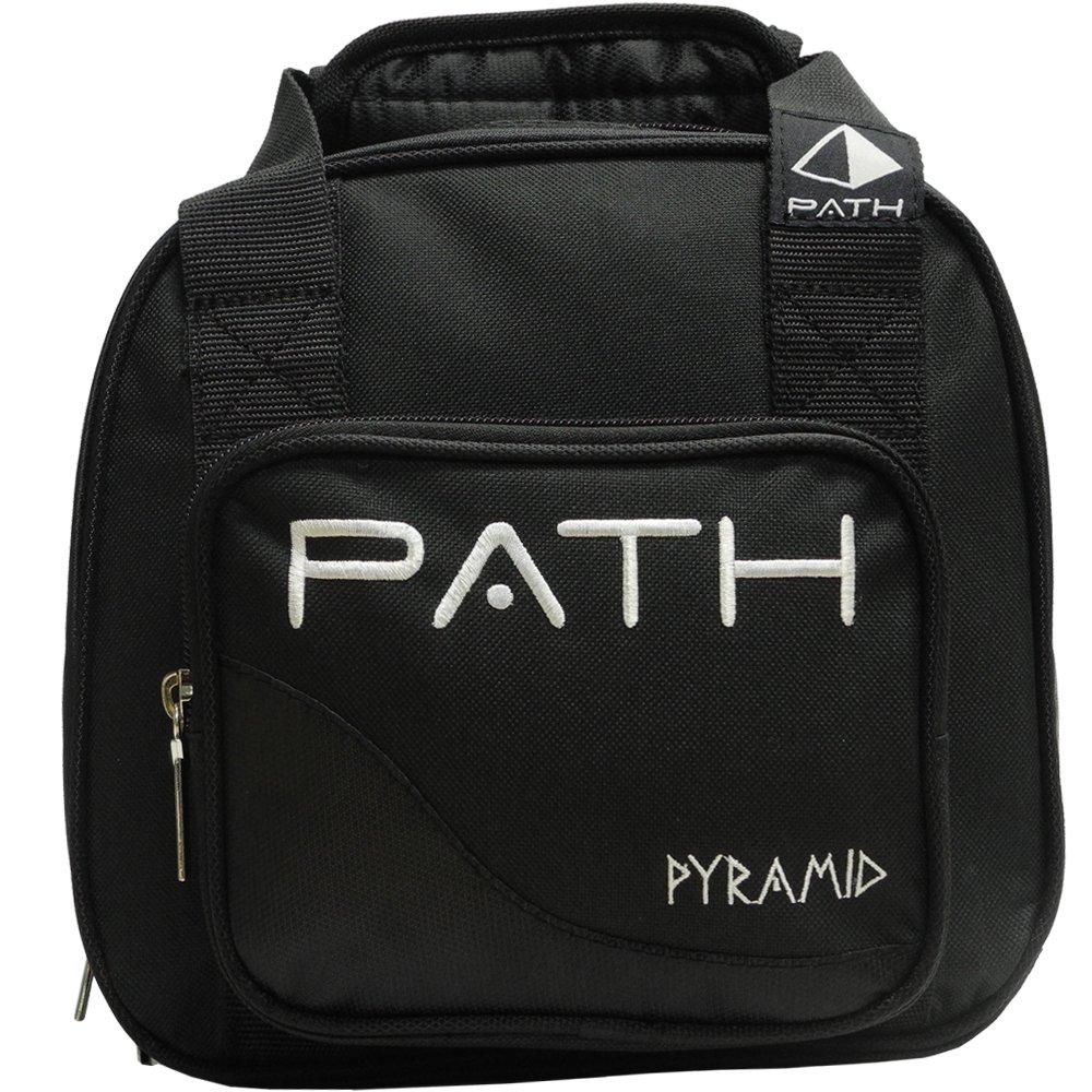 Pyramid Path Plus One Spare Tote Bowling Bag (Black/Black) by Pyramid