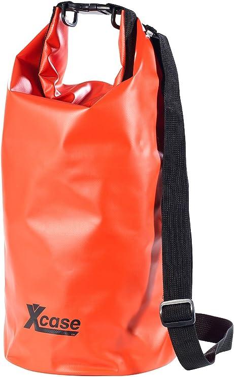 Wasserdichter Beutel Handyh/ülle 25l Outdoor Wasserdichter Packsack Rucksack Sack Aufbewahrungstasche Rafting Sport Kajak Kanu Schwimmen Taschen Travel Kits Rucks/äcke Orange