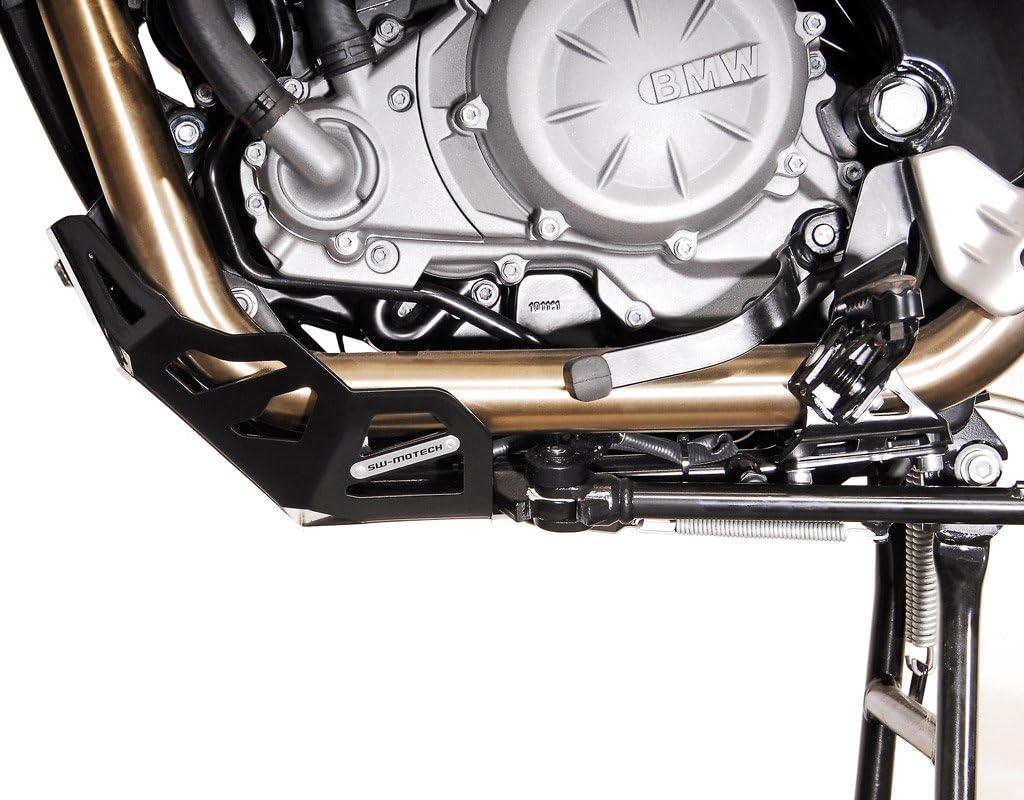 SW-MOTECH Motorschutz G650GS//Sert/ão Schwarz//Silbern f/ür BMW F650GS