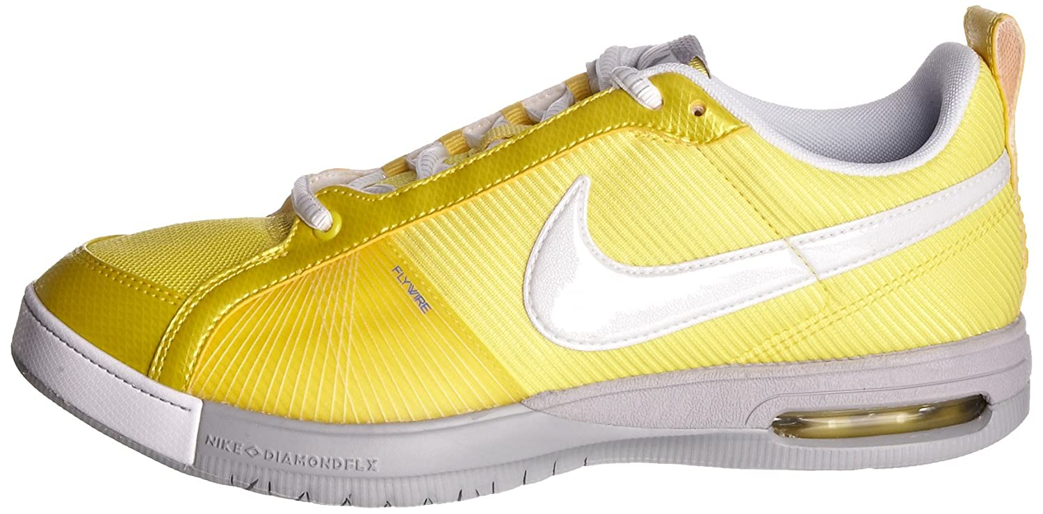 promo code 6a0ff fd7ce Nike Women s Air Fly Bold Sister Vibrant Yellow White Trainer 395753-711 4  UK  Amazon.co.uk  Shoes   Bags