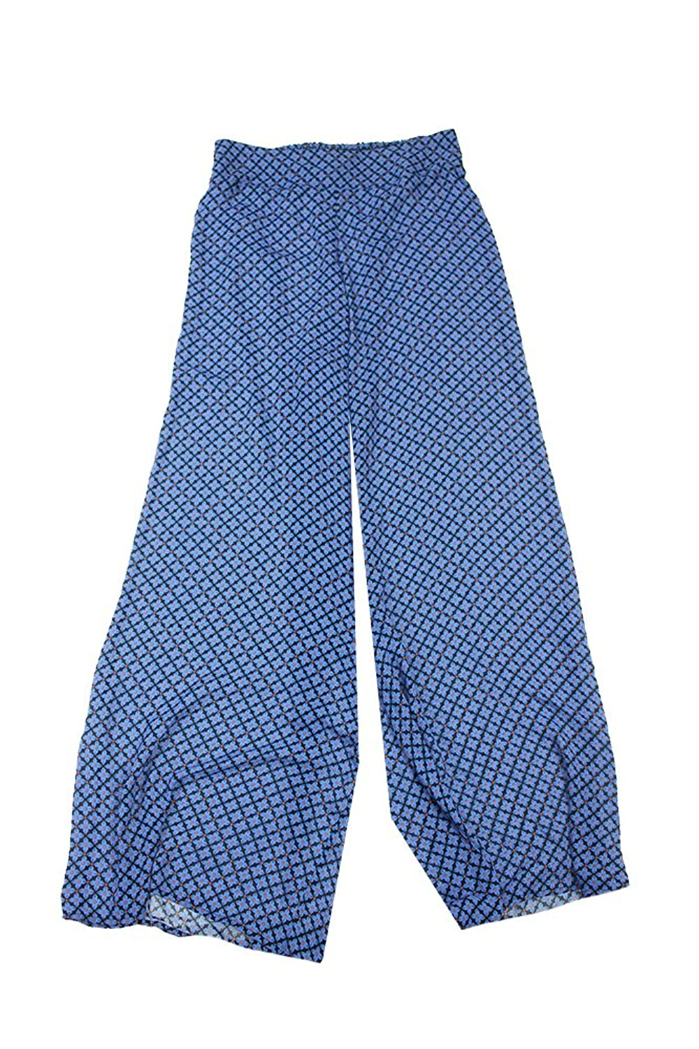 Bar III Womens Geometric Printed Wide Leg Pants
