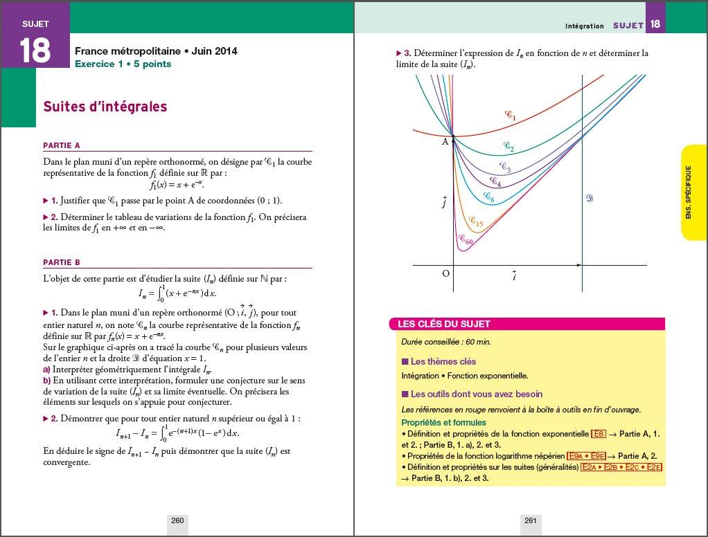 Annales Annabac 2016 Maths Tle S spécifique & spécialité: sujets et corrigés du bac - Terminale S: 9782218991257: Amazon.com: Books