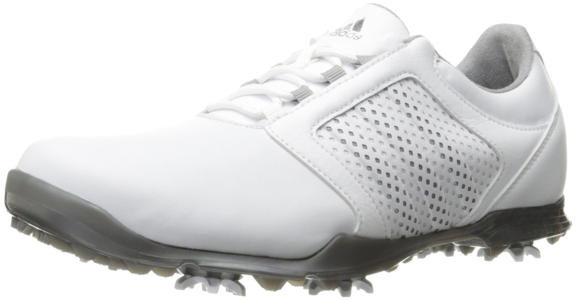 adidas Women's Adipure Tour Golf Shoe, White, 6 M US