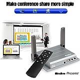 Mirabox Wifi VGA+HDMI Presentador Mirrorlink Display Para Windows 8/10, Mac OS, Ios10/Ios9 Airplay, Sistema Operativo Android Miracast, Allshare Cast, Espejo De Pantalla, Cine En Casa, Proyector, HDTV