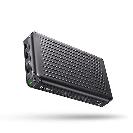 Amazon.com: luxtude 10000 mAh cargador portátil, ligero ...