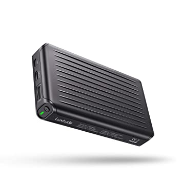 Luxtude 10000mAh Cargador Portatil Movil con 2 Salidas(Tipo C y USB A), 2 Entradas(USB C y Micro USB), Bateria Externa Movil Carga Rapida, Power Bank ...