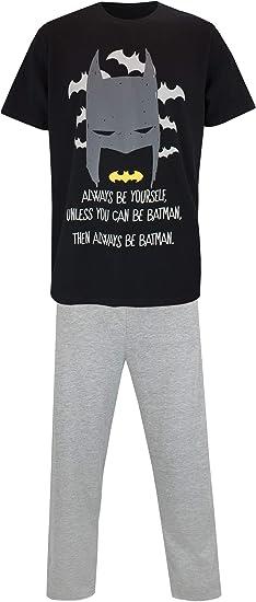 DC Comics Pijama para Hombre Batman