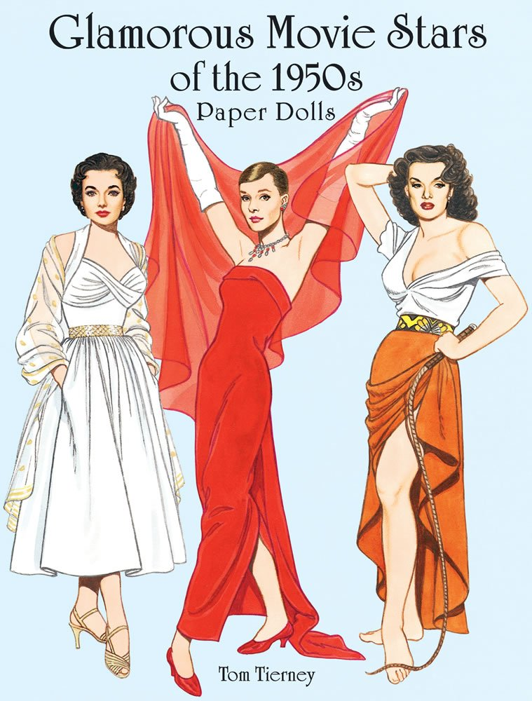 1303a50d84a Glamorous Movie Stars of the 1950s Paper Dolls (Dover Celebrity ...