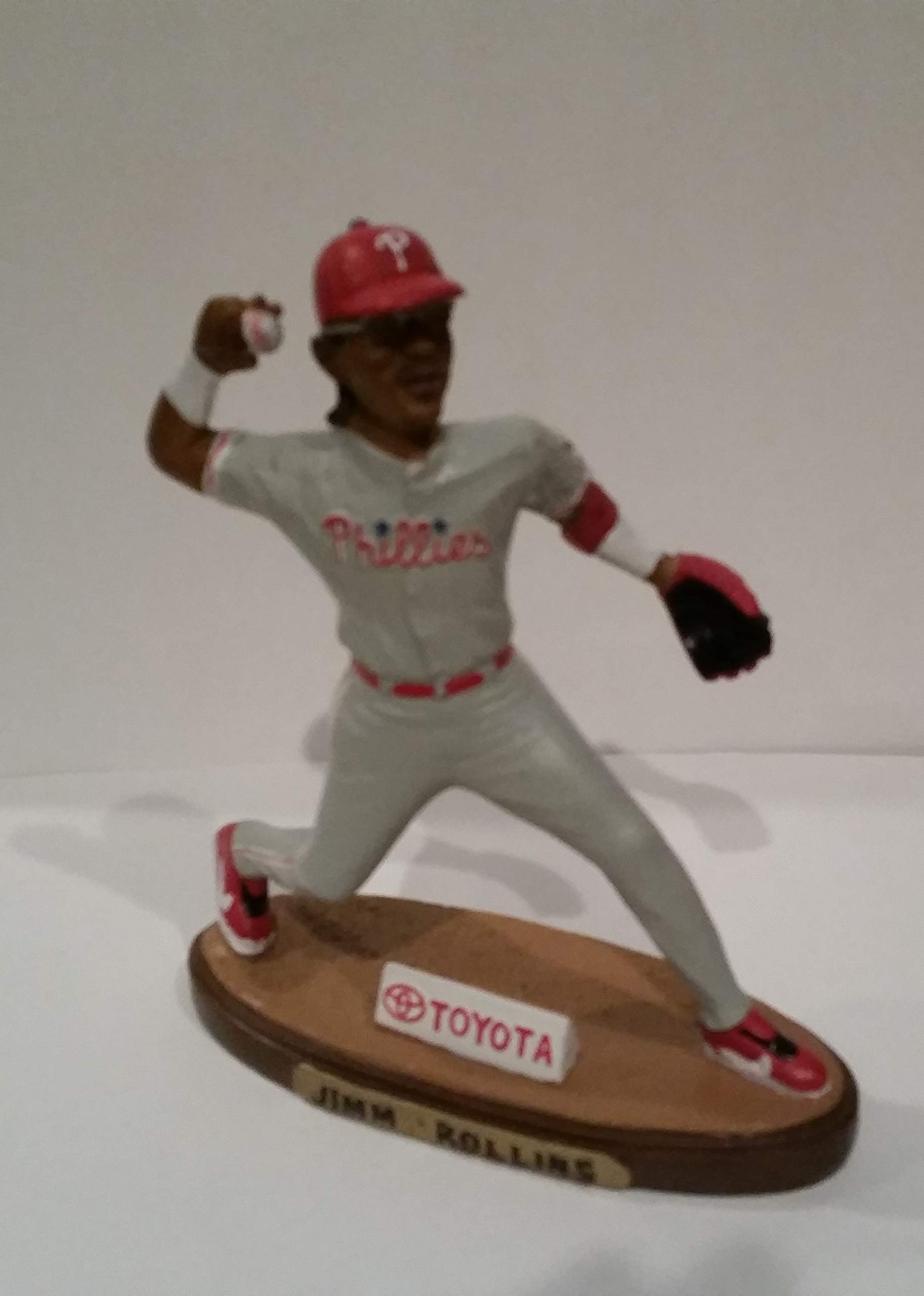 JIMMY ROLLINS COLLECTIBLE FIGURINE 2005 LIMITED EDITION PHILADELPHIA PHILLIES SGA