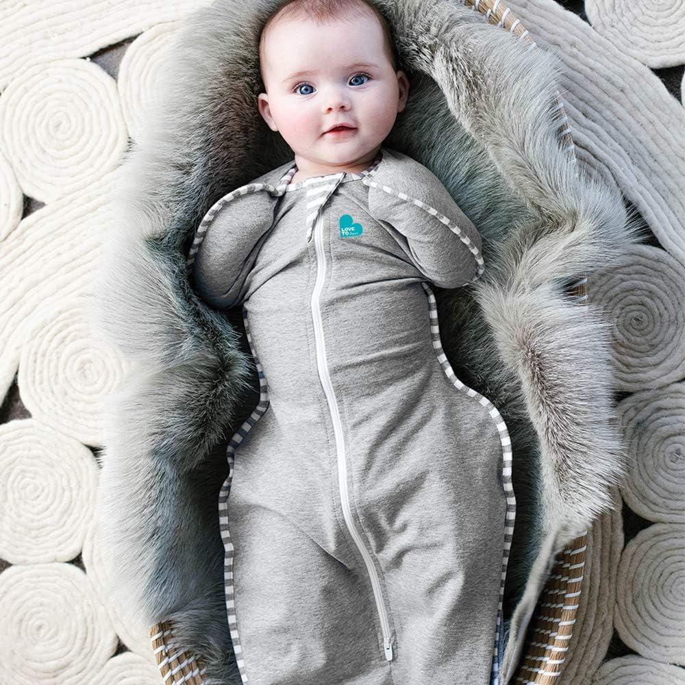 Medium 6kg-8.5kg Swaddle Blanket 1.0 TOG Love To Dream Swaddle UP Bamboo Grey Marle