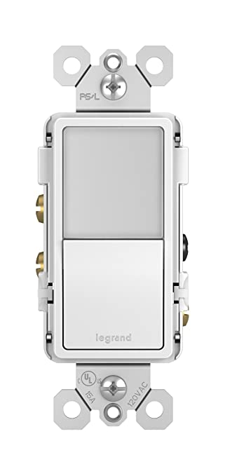 legrand pass seymour ntl873wcc6 radiant night light with single rh amazon com Adorne Le Grand Under Cabinet System Le Grand Dimmer Switches
