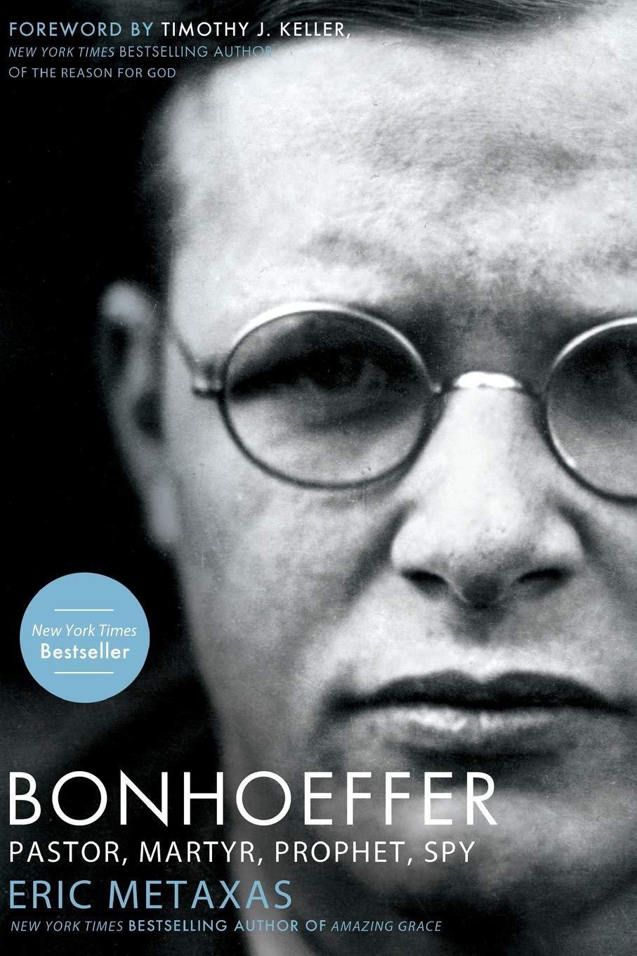 Amazon.com: Bonhoeffer: Pastor, Martyr, Prophet, Spy ...