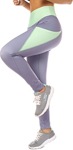 Curvify Womens Leggings, Butt Lifting Thigh Slimmers With High Rise Waist Control