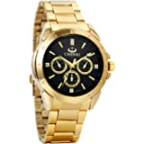 Avaner - Reloj de pulsera para hombre, esfera analógica de cuarzo, con diamantes de imitación, acero inoxidable