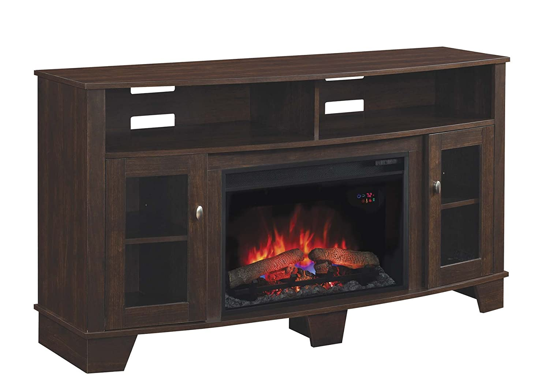 Amazon.com: ClassicFlame 26MM4995-PE91 La Salle TV Stand for TVs ...