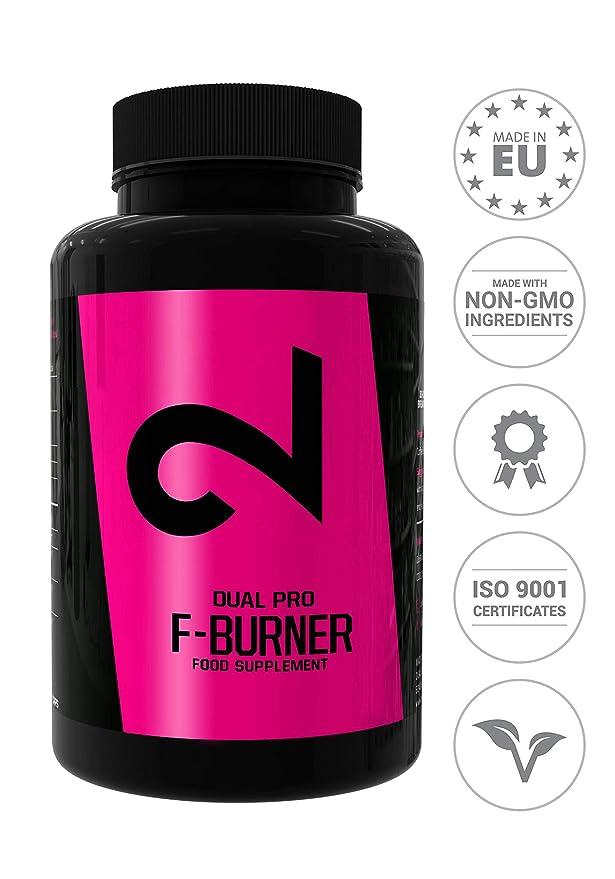150 opinioni per DUAL Pro F-BURNER | Anche Senza Sport | Per Donne E Uomini | 100 Capsule Vegan