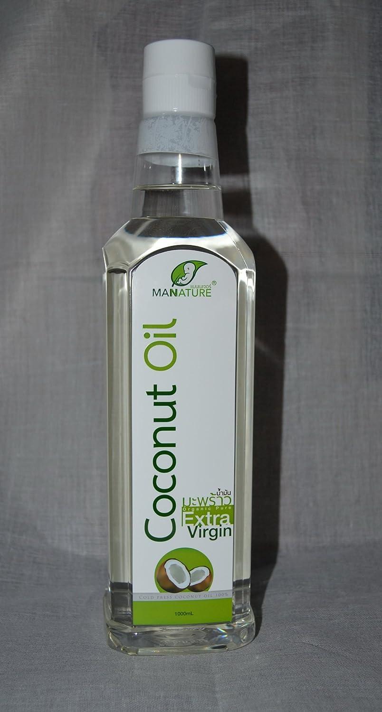 Amazon.com: Nuevo. Prensado en Frío aceite de coco extar ...