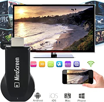 MiraScreen OTA TV Stick Dongle Chromecast: Amazon.es: Electrónica