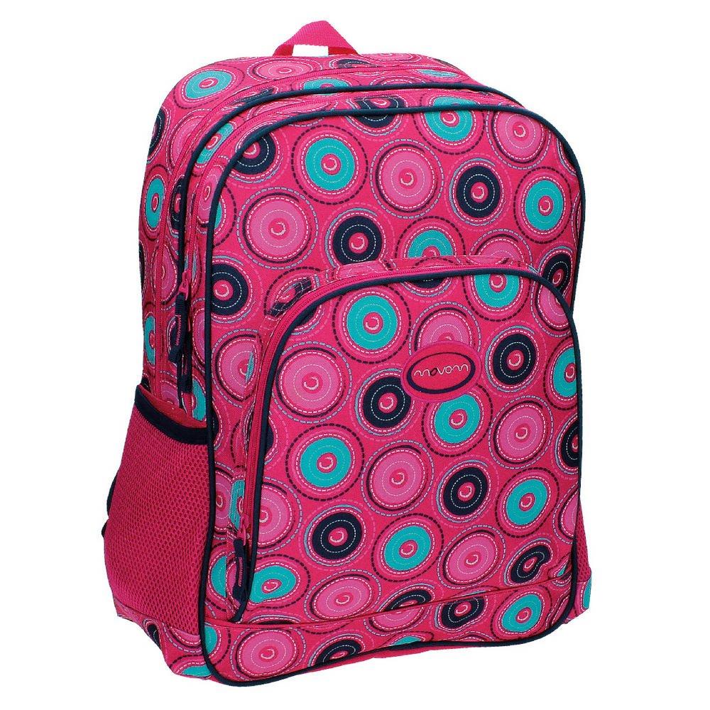 Movom 52925A1 Circles Mochila Escolar, 21.6 litros, Color Rosa: Amazon.es: Equipaje