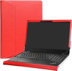 "Alapmk Protective Case Cover For 15.6"" Lenovo ThinkPad T580 T570 & ThinkPad P52s P51s Series Laptop(Warning:Not fit ThinkPad P53s P51 P50s P50),Red"
