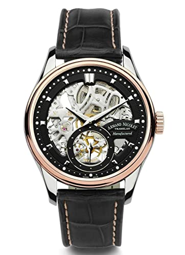 Armand Nicolet LS8 ~ Limited Edition ~ con 18 kt Oro 8620s de Nr de p713nr2: Amazon.es: Relojes