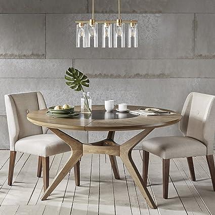 INK+IVY Metro Round Dining Table Natural Oak See Below
