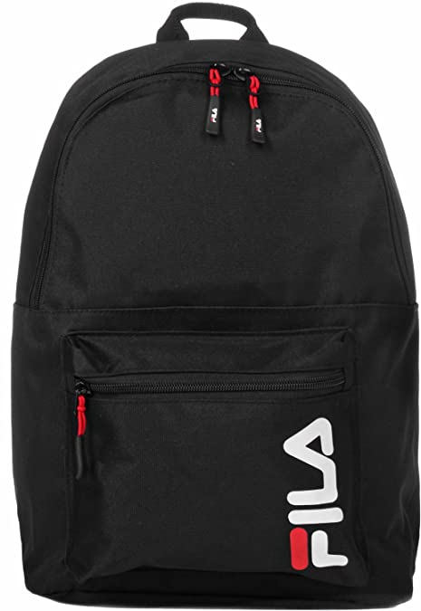 Fila - Urban Line Backpack Scool, Mochilas Unisex adulto, Negro (Black